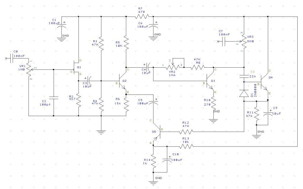 Dallas Rangemaster Pedal Wiring Diagram Circuit Diagram