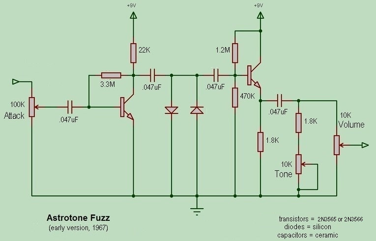 Bazz Fuss Schematic furthermore Vintage Proco Rat Schematic as well Buzzz Box Wiring Diagram likewise Volume Control Guitar Pedal Schematic also Simple Schematic Guitar Fuzz Effect. on octave fuzz schematic free wiring diagram