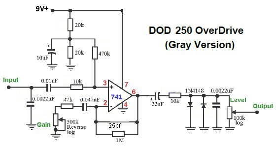 dod 250 wiring diagram dod auto wiring diagram schematic perf and pcb effects layouts earthquaker devices grey channel on dod 250 wiring diagram