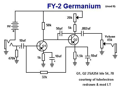FY-2 Germanium / Fuzz Face Germanium Mod on wah schematic, distortion schematic, mutron iii schematic, ts9 schematic, compressor schematic, univibe schematic, simple tube amp schematic, solar charge controller schematic, super fuzz schematic, simple fuzz box schematic, 3 pole double throw switch schematic, harmonic percolator schematic, muff fuzz schematic, tremolo schematic, overdrive schematic, marshall schematic, colorsound overdriver schematic, tube screamer schematic, fuzz pedal schematic, tube driver schematic,